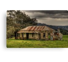 Location Location - Somewhere on the Road To Hill End - The HDR Experience Canvas Print
