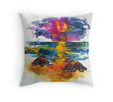 They Come Throw Pillow
