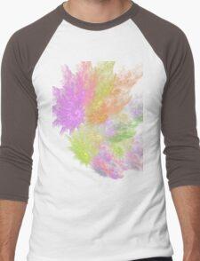Ocean Flower # 3 Men's Baseball ¾ T-Shirt