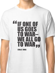 Conor McGregor - Quotes [War] Classic T-Shirt