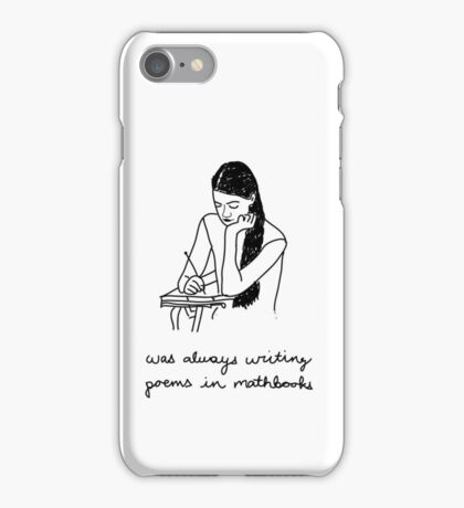 Poems iPhone Case/Skin
