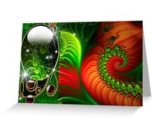 Holiday Abstract Greeting Card