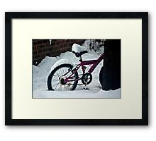 On Yer Bike Framed Print