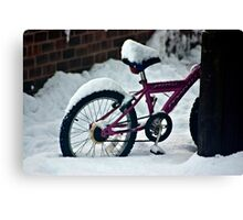 On Yer Bike Canvas Print