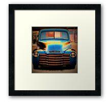 Chevy Beauty Framed Print