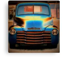 Chevy Beauty Canvas Print