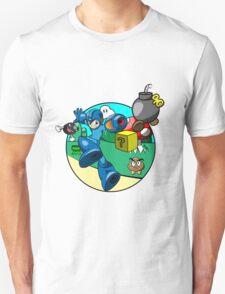 megaman in the mushroom kingdom T-Shirt