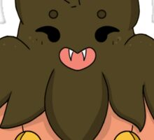 Pumpkaboo: Short and Fat and Proud of That! Sticker