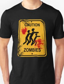 Caution Zombies T-Shirt