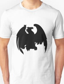 Silhouette of sitting Eagle T-Shirt