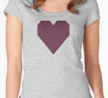 Old Mauve Women's Fitted Scoop T-Shirt