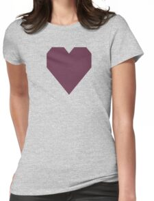 Old Mauve Womens Fitted T-Shirt