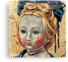"""""""Nothing to Fix"""" (Antique French Doll) Canvas Print"""