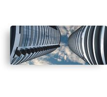 Two sky-scrapers Canvas Print
