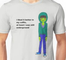 Hipster Zombie T-Shirt