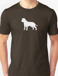 American Staffordshire Terrier Silhouette T-Shirt
