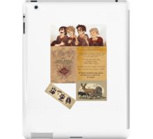 The Maruders of Harry Potter  iPad Case/Skin