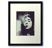 Smoke. Framed Print