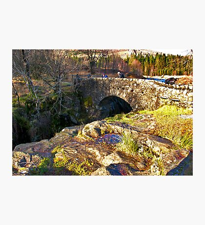 Birks Bridge - River Duddon Photographic Print