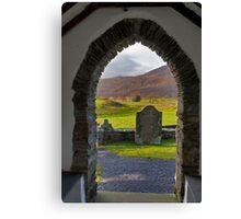 From the Church at Ulpha Canvas Print