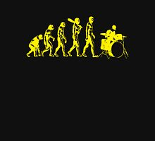 Evolution Of Drummer Evolution Unisex T-Shirt