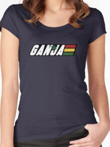 G.I. Ganja  Women's Fitted Scoop T-Shirt