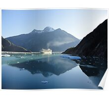 Amazing Morning in Tracy Arm Fjord Poster