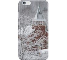 Beautiful Winter Church Gothic White iPhone Case/Skin