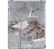 Beautiful Winter Church Gothic White iPad Case/Skin