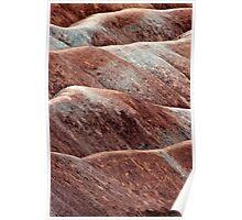 Rolling Hills of Cheltenham Badlands Poster