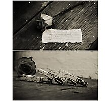 love letter Photographic Print
