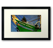 The Rickmer Rickmers Framed Print