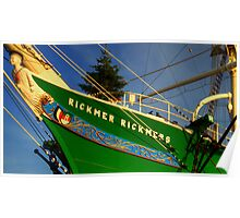 The Rickmer Rickmers Poster