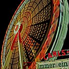 Big wheel at the fair by Rob Hawkins