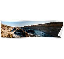 Great Falls Park Morning Panorama Poster