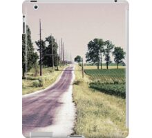 Don't Take This Road; There is Danger  iPad Case/Skin