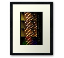lily by the window ~ a portrait in four moods Framed Print
