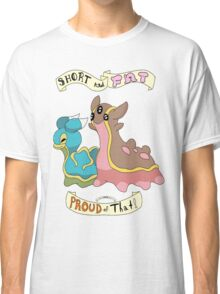 Shellos and Gastrodon: Short and Fat and Proud of That! Classic T-Shirt