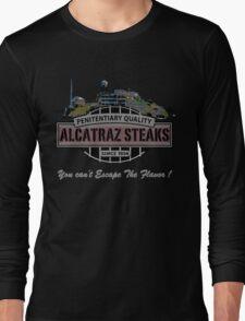 Alcatraz Steaks Long Sleeve T-Shirt