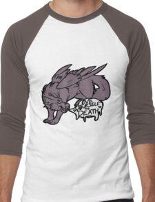 Positive Dog Men's Baseball ¾ T-Shirt