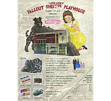 Atomic Ads - MILEMCO Girls Fallout Shelter Playhouse Photographic Print