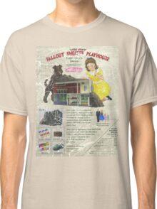Atomic Ads - MILEMCO Girls Fallout Shelter Playhouse Classic T-Shirt