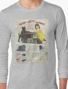 Atomic Ads - MILEMCO Girls Fallout Shelter Playhouse Long Sleeve T-Shirt