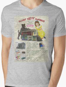 Atomic Ads - MILEMCO Girls Fallout Shelter Playhouse Mens V-Neck T-Shirt
