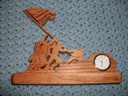 Iwo Jima mini desk clock by FineCrafts