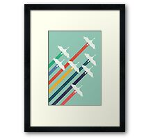 The Cranes Framed Print