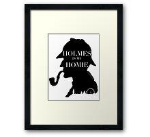 Sherlock Holmes inspired Fan gear Framed Print