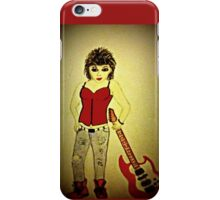 Ruby Rock chick iPhone Case/Skin