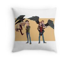 My Crazy Angel Throw Pillow