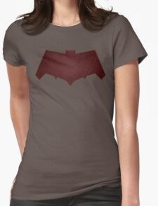 dawn of justice red hood Womens Fitted T-Shirt